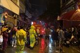 Hà Nội: Cháy cơ sở kinh doanh ga khiến 5 người mắc kẹt, trong đó có cả trẻ em
