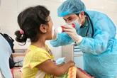Năm em bé Quảng Ngãi mắc bệnh bạch hầu