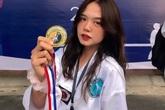 Nữ sinh Đại học Kinh tế Quốc dân đam mê võ thuật