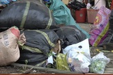 Thành phố Hà Tĩnh ngập chìm trong rác sau khi nước rút