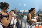 TPHCM: Trời trở lạnh, trẻ nhập viện điều trị bệnh hô hấp tăng đột biến