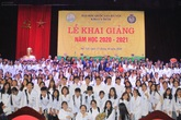 Lễ khai giảng trang trọng, ấm áp tại Khoa Y dược, Đại học Quốc gia Hà Nội