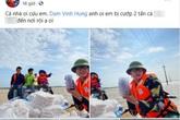 Trang Trần đăng đàn tố nhà xe ăn chặn 2 tấn hàng hoá cứu trợ miền Trung
