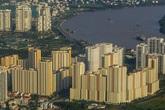 Giá chào bán căn hộ tiếp tục tăng vọt