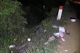 Lao xe máy từ cầu xuống suối, cô gái trẻ chết thảm
