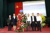 Tổng Giám đốc EVN Trần Đình Nhân và lãnh đạo Tổng công ty Điện lực miền Bắc thăm và chúc mừng các đơn vị đào tạo nhân Ngày Hiến chương Nhà giáo Việt Nam 20/11