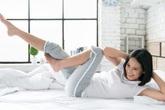 Những bài tập thể dục giảm mỡ bụng trên giường, nàng lười đến mấy mà áp dụng sẽ chẳng mấy chốc sở hữu vòng eo con kiến