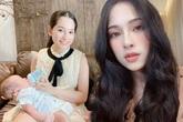 """Hậu sinh đôi 1 tháng, bà xã Dương Khắc Linh """"biến hình"""" như gái 20 từ da đến dáng"""