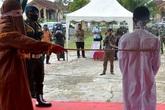 Tội phạm hiếp dâm ngã gục khi bị đánh gần 150 roi thị chúng