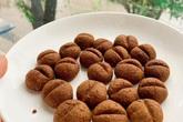 Trổ tài làm bánh cookie hạt cà phê siêu nhanh bằng nồi chiên không dầu, ai cũng khen dễ thương và thơm ngon nức nở