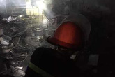 Nghệ An: Kịp thời dập đám cháy tại chợ đầu mối