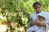 Trang trại trăm loại cây trái trĩu trịt quả của cặp vợ chồng Pháp - Việt