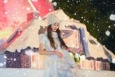 Giáng Sinh tuyết trắng cùng búp măng Noel cao nhất Việt Nam tại Ecopark