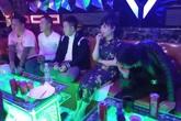 Đột kích quán karaoke Thừa Thiên - Huế lúc rạng sáng, phát hiện 16 đối tượng dương tính với ma tuý