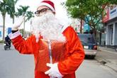 """""""Ông già Noel"""" nhàn hạ vì """"ế sô"""""""