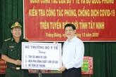 Bộ trưởng Bộ Y tế thăm, kiểm tra công tác phòng chống COVID-19 tại khu vực biên giới tỉnh Tây Ninh