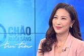 Quỳnh Hoa 'thời tiết' bất ngờ dẫn thời sự Chào buổi sáng VTV