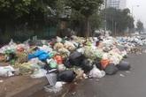 Hà Nội: Xuyên đêm di dời hơn 200 tấn rác thải tồn đọng trước thềm năm mới
