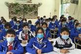 Học sinh Hải Phòng đeo khẩu trang trở lại, phòng chống dịch COVID-19