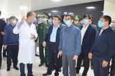 Phó Thủ tướng Vũ Đức Đam kiểm tra công tác phòng, chống dịch bệnh nCoV tại Quảng Ninh