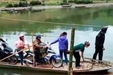 Huyện Quan Hóa, Thanh Hóa: Biết nguy hiểm, dân vẫn phải nài xin qua sông