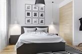 Đây là mẫu phòng ngủ được các gia đình trẻ lựa chọn nhiều nhất  bởi sự tối giản và tinh tế