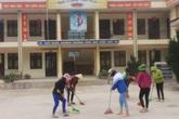 Sau dịch COVID-19, các thầy, cô giáo vùng cao khẩn trương chuẩn bị đón học sinh trở lại trường