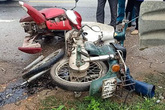 Tai nạn liên hoàn giữa xe con và 2 xe máy, 3 người phải nhập viện cấp cứu