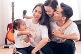 Khánh Thi và chồng trẻ xoay sở chăm sóc con nhỏ như thế nào trong mùa dịch COVID-19