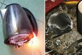 Thói quen dùng ấm siêu tốc cực kì tai hại khiến ổ điện nổ tung của nhiều người
