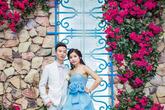 """Bỏ 40 triệu sang tận nước ngoài chụp ảnh cưới, cặp đôi nhận kết quả """"chất ngất"""", so sánh nhan sắc ngoài đời của cô dâu quả thật bất ngờ"""