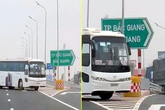 Phạt nặng lái xe chở công nhân Công ty Samsung đi ngược chiều trên cao tốc