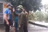Xử phạt kịch khung người đàn ông xúc phạm, dọa đánh thành viên chốt kiểm dịch ở Hải Dương