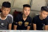 Thiếu tiền chơi game, nhóm thanh niên mang dao quắm đi cướp