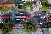 Hà Nội: Dù thông xe đường Nguyễn Xiển - Xa La nhưng đường 70 vẫn tắc nghiêm trọng