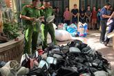 Triệt xoá đường dây trộm cắp gương, phụ tùng ô tô lớn nhất Hà Nội