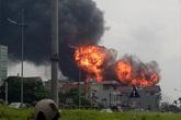 Sau vụ cháy kho hóa chất ở cảng Đức Giang: Nhiều hợp chất độc hại tồn dư trong không khí Hà Nội