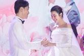Những khoảnh khắc đẹp trong hôn lễ á hậu Thúy Vân