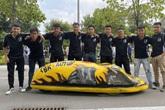 """Trong gần 200 ngày, sinh viên ĐH Bách Khoa chế tạo thành công """"siêu xe"""" chạy 400km hết 1 lít xăng"""