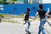 Hải Phòng: Vừa rời trụ sở, cán bộ phường bị 2 kẻ bịt mặt chém trọng thương