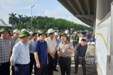 """Bí thư Thành ủy Hà Nội kiểm tra nhiều dự án giao thông và """"ấn định"""" thời gian hoàn thành"""