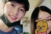 Song Joong Ki lần đầu lộ ảnh cận mặt sau thời gian ồn ào, nhìn là thấy trạng thái tinh thần tốt thế nào sau khi ly hôn Song Hye Kyo