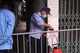 Phong tỏa, giám sát chặt chẽ con ngõ nơi có nữ nhân viên ngân hàng nghi mắc COVID-19