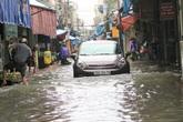 Hải Phòng: Mưa lớn kéo dài, người dân vật lộn với ngập lụt