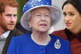 Hành động lạ của Meghan Markle và Hoàng tử Harry dành cho Nữ hoàng Anh khiến công chúng ngỡ ngàng