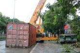 Hải Phòng: Nhiều người suýt chết vì tài xế container ngủ gật