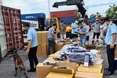 Hải Phòng: Bắt giữ lô hàng hơn triệu bao thuốc lá 555 giả