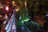 Phát hiện nhiều xe môi trường đổ trộm chất thải trên Đại lộ Thăng Long