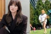 Sau khi bị lộ ngoại hình thật qua hình do người qua đường chụp, Song Hye Kyo lần đầu có động thái mới gây chú ý