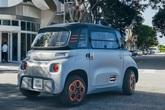 """Ô tô điện nhỏ xinh 2 chỗ giá chỉ bằng chiếc xe máy SH đang khiến nhiều bà nội trợ có con nhỏ """"phát cuồng"""""""